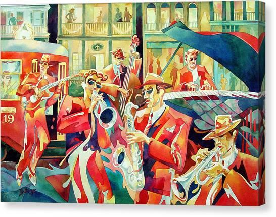 Streetcar 19 Canvas Print