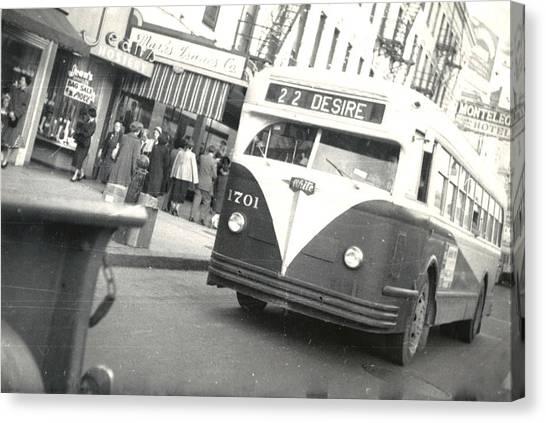 Streetcar Named Desire Canvas Print