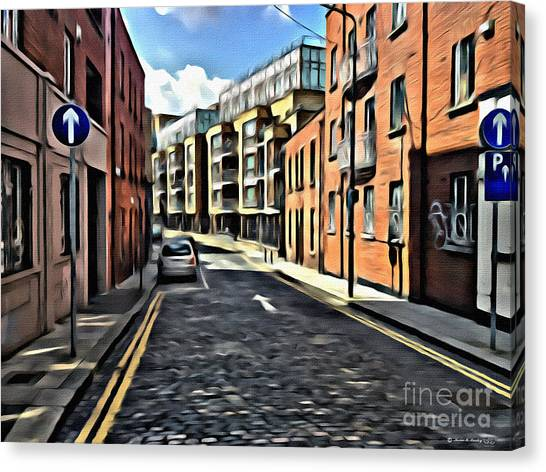 Streets Of Ireland Canvas Print