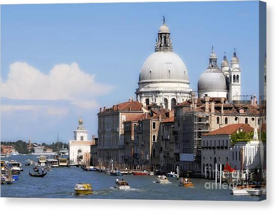 Streets Of Venezia 1 Canvas Print