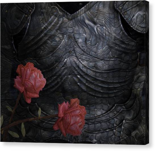 Installation Art Canvas Print - Strength Of A Rose by Jack Zulli