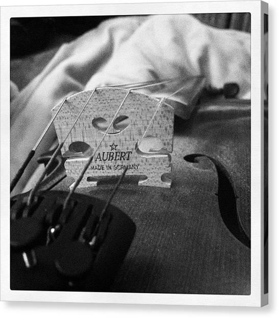 Fiddles Canvas Print - Strings by Alyssa Adams