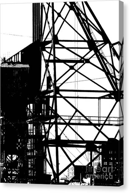 Structure 3 Canvas Print