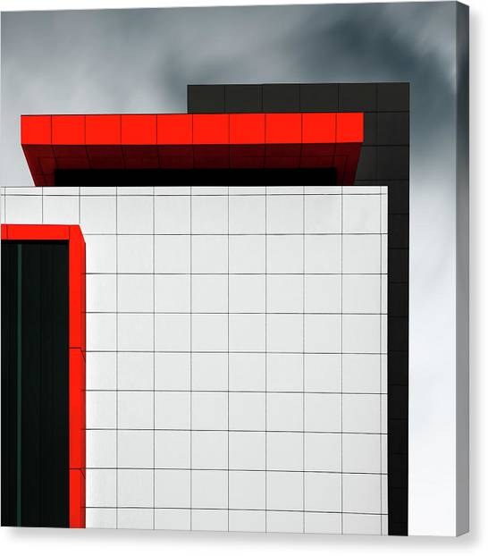 Tetris Canvas Print - Structure Wal by Gilbert Claes