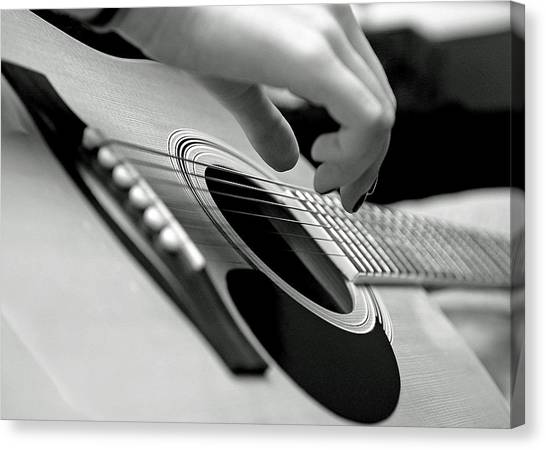 Strum Canvas Print
