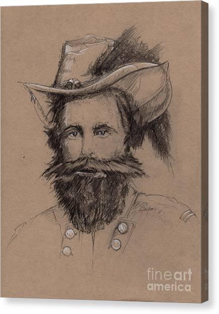 Stuart's Rebuke Canvas Print