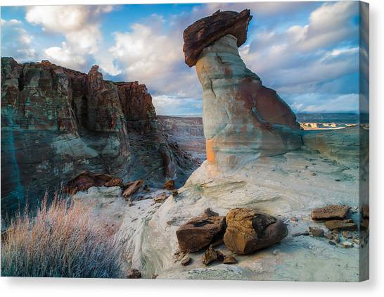 Singh Canvas Print - Stud Horse Point 2 by Larry Marshall