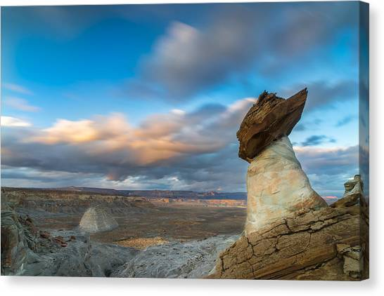 Singh Canvas Print - Stud Horse Point by Larry Marshall