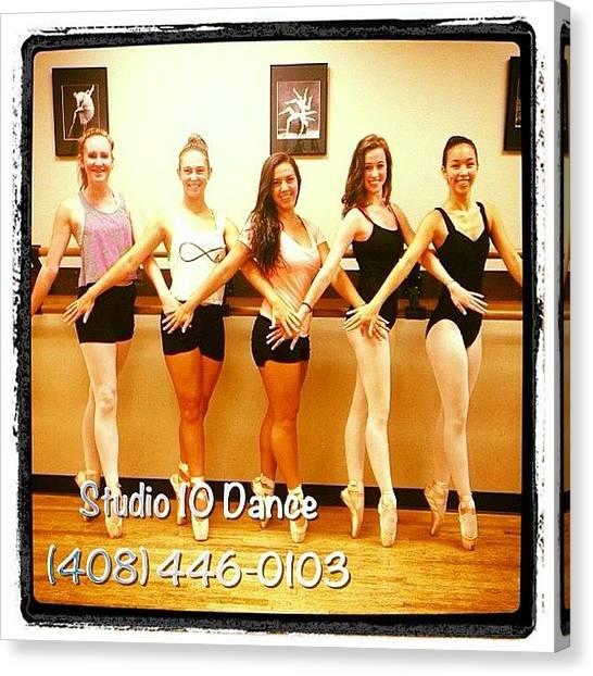 Ballet Canvas Print - #studio10dance #ballet #dance by Studio 10 Dance