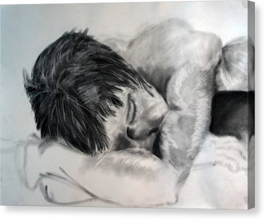 Study Canvas Print by Corina Bishop