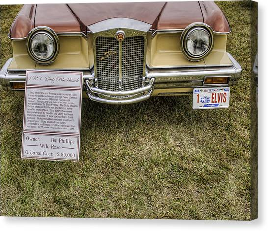 Stutz Blackhawk Canvas Print