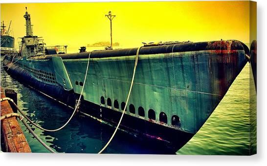 Submarine Canvas Print - Submarine by Freya Doney