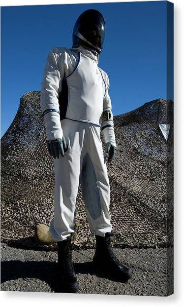 Space Suit Canvas Print - Suborbital Space Suit by Louise Murray/science Photo Library