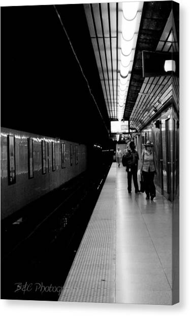 Subway Canvas Print by BandC  Photography