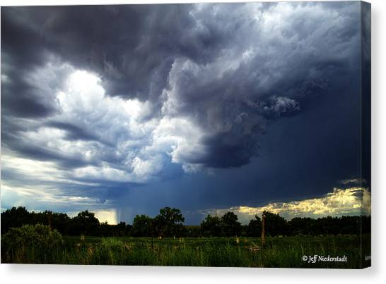 Sudden Storm Canvas Print