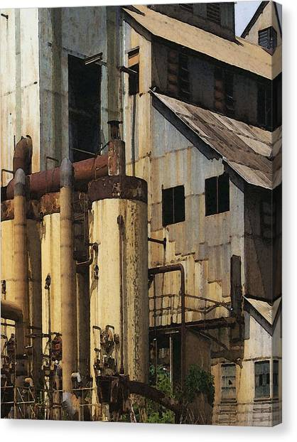 Sugar Factory Canvas Print