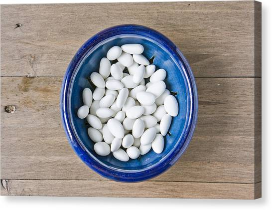 Ceramic Glazes Canvas Print - Sugared Almonds by Tom Gowanlock
