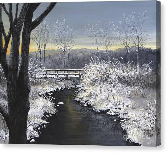 Sugared Sunrise Canvas Print
