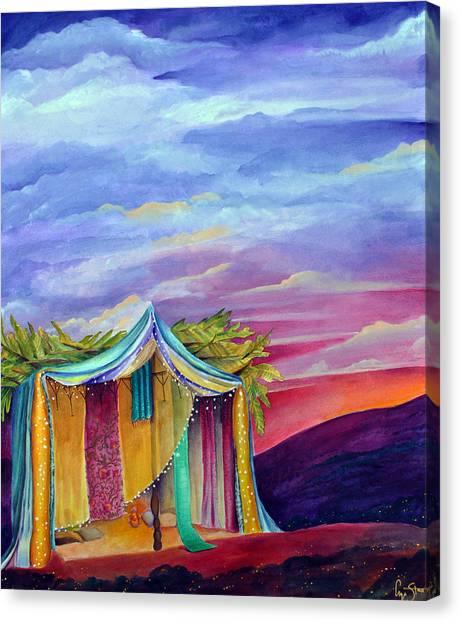 Sukkah Canvas Print