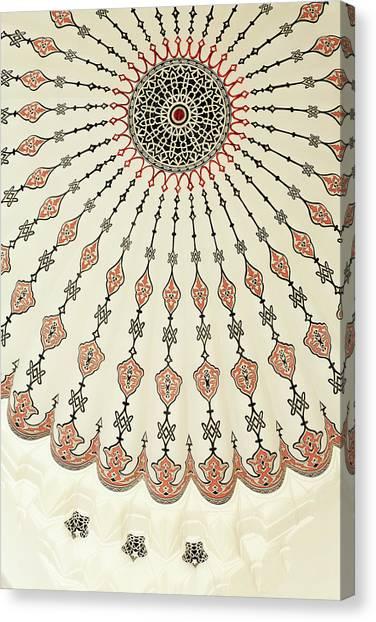 Suleymaniye Canvas Print - Suleymaniye Mosque, Bazaar District by Richard Cummins