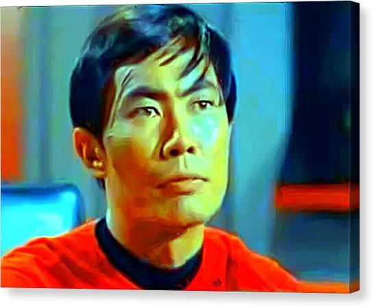 Uhura Canvas Print - Sulu by Paul Quarry