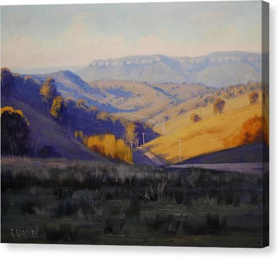 Homestead Canvas Print - Summer Afternoon by Graham Gercken