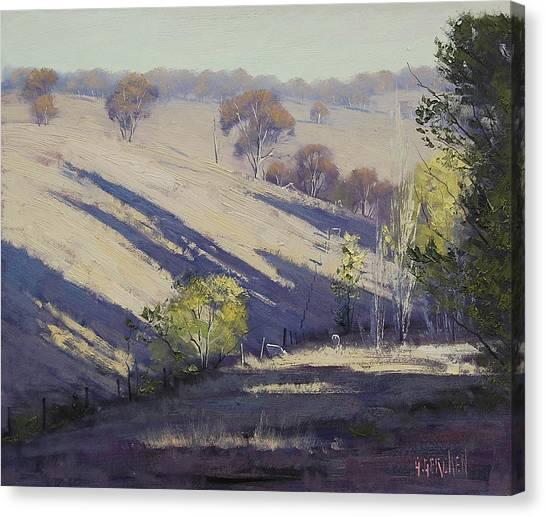 Homestead Canvas Print - Summer Afternoon Shadows by Graham Gercken