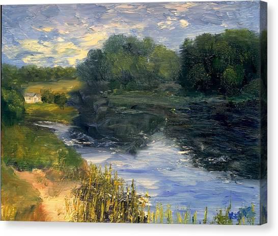 Summer At Jackson Lake Canvas Print