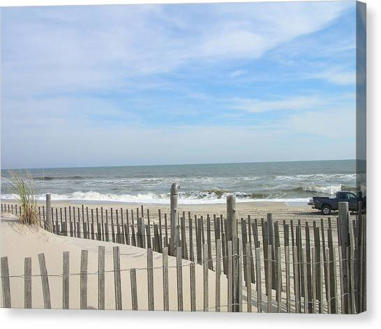 Summer At The Jersey Shore Canvas Print