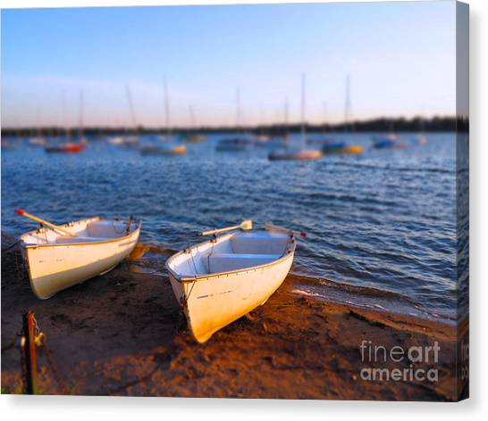 Summer Boats Canvas Print