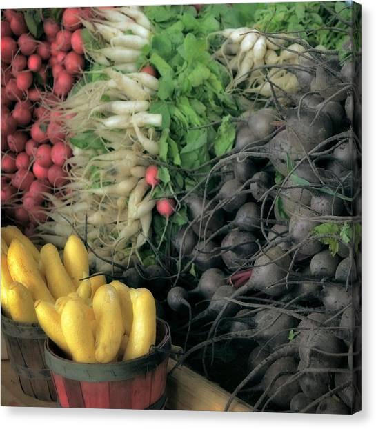 Summer Bounty Canvas Print