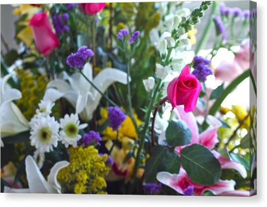 Summer Bouquet Canvas Print