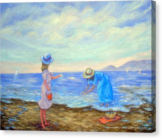 Summer By The Sea... Canvas Print