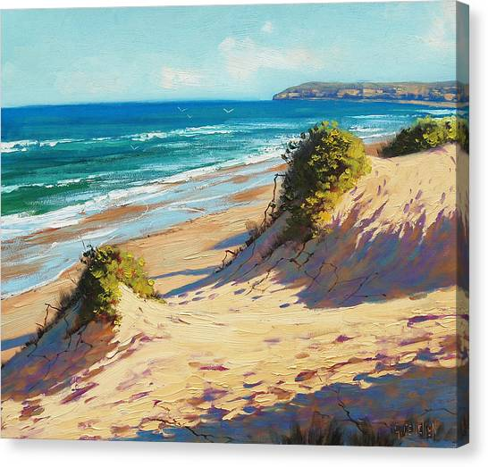 Australian Canvas Print - Summer Day The Entrance by Graham Gercken