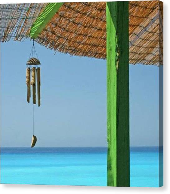 Greece Canvas Print - Summer! by Emanuela Carratoni