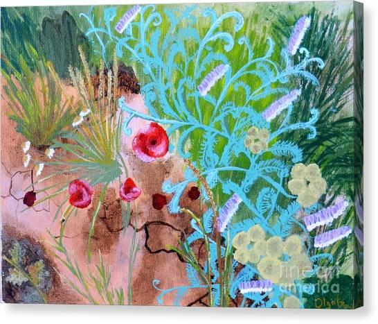 Summer Flowers Canvas Print by Olga R