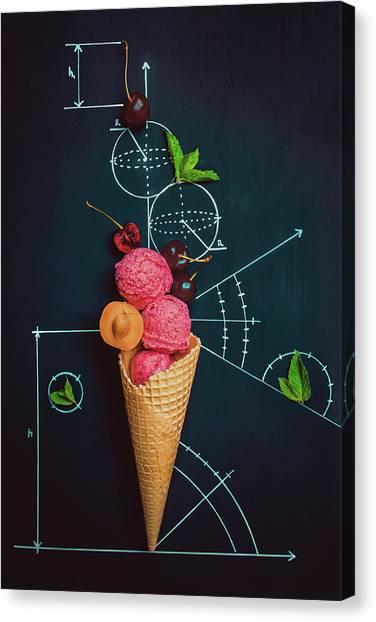 Engineering Canvas Print - Summer Homework by Dina Belenko