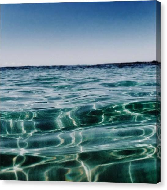 Australian Canvas Print - Summer, I Miss You. #ocean #beach by Pix Jax