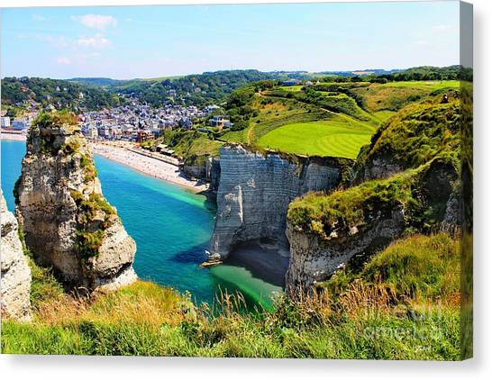 Summer In Normandy Canvas Print