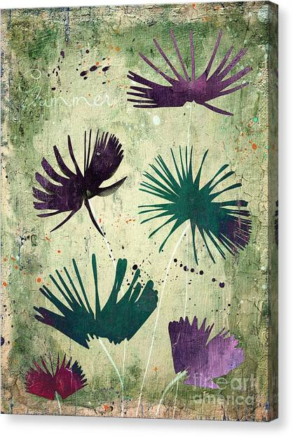 Fleur Canvas Print - Summer Joy - S18cc by Variance Collections