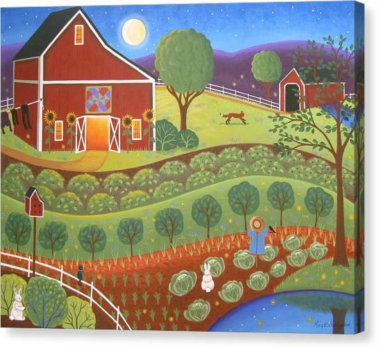 Amish Canvas Print - Summer Magic by Mary Charles