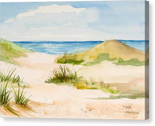 Summer On Cape Cod Canvas Print