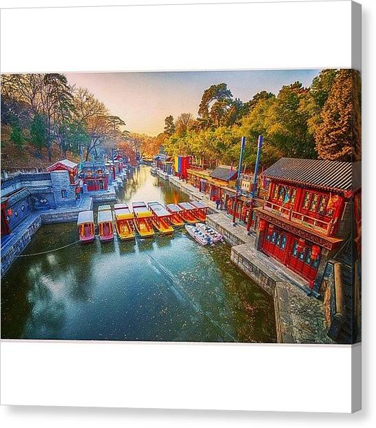 Sunny Canvas Print - Summer Palace Beijing by Sunny Merindo