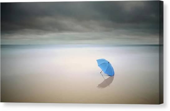 Desolation Canvas Print - Summer Rain by Paulo Dias