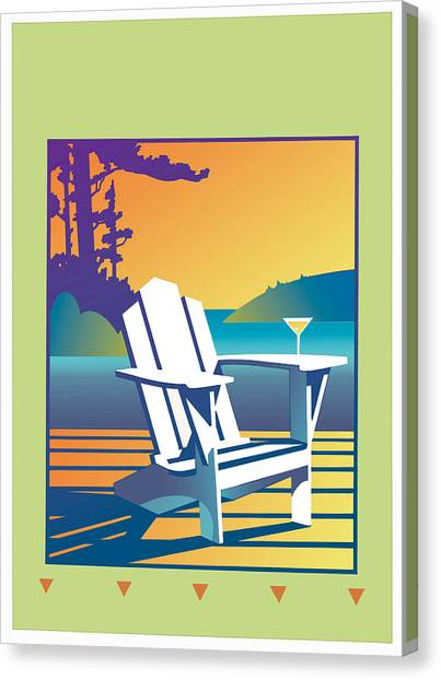 Summer Relax Canvas Print