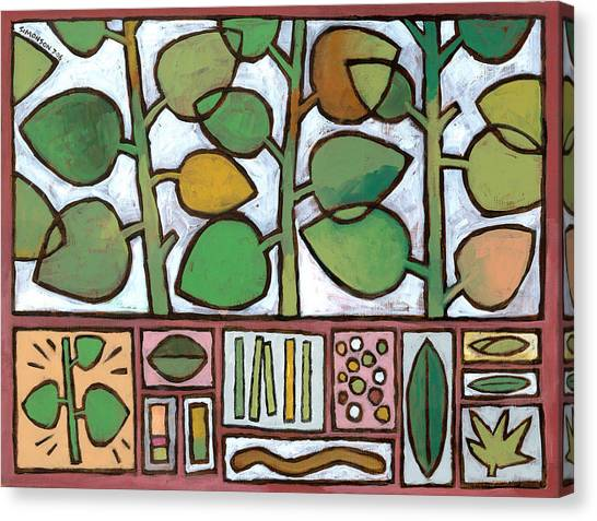 Salad Canvas Print - Summer Salad by Douglas Simonson
