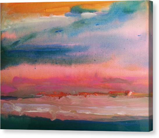 Summer Seascape Canvas Print