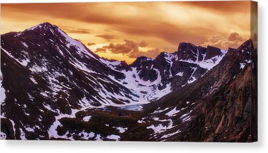 June Lake Canvas Print - Summer Solstice Sunset by Darren  White