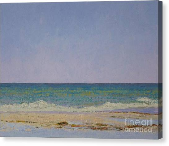 Summer Storm Tidepools Canvas Print