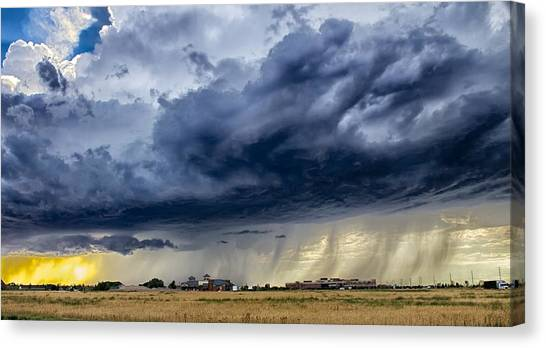 Summer Storm Twin Falls Idaho Canvas Print